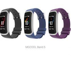 MGCool представила умный браслет Band 5