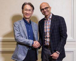 Microsoft и Sony договорились о партнерстве в развитии игровых стриминговых сервисов