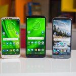 Смартфоны Moto G6 и Moto G6 Play обновляются до Android 9.0 Pie