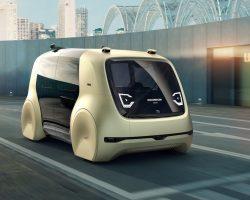 Sedric — полностью автономный автомобиль от Volkswagen