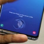 Samsung выпустила обновление, устраняющее проблему со сканером отпечатков пальцев