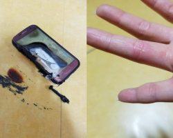 В Южной Корее взорвался смартфон Samsung Galaxy S7