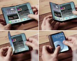 По слухам, Samsung продемонстрирует прототип складного смартфона на MWC 2017