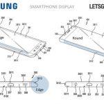 Samsung запатентовала смартфон с сильно изогнутым по бокам экраном