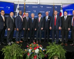 Начал работу первый в США завод Samsung по сборке бытовой техники