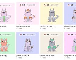 """Baidu запускает """"криптособачек"""" – свою версию """"криптокотят"""", но на блокчейне Achain"""