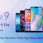 Huawei анонсировала оболочку EMUI 9.0 на базе Android Pie для своих устройств