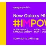 Samsung представила смартфон Galaxy M10s