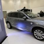 Uber представила новый беспилотный автомобиль на базе Volvo XC90
