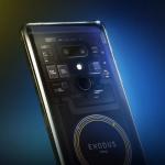 HTC представила свой первый блокчейн-смартфон Exodus 1