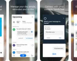 Для iOS вышла новая версия Cortana