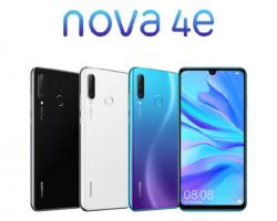 Представлен смартфон Huawei Nova 4e (он же Huawei P30 Lite)