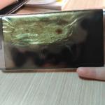 Samsung Galaxy S7 Edge загорелся после перезагрузки