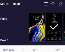 Темы для смартфонов Samsung Galaxy станут платными