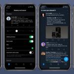 Приложение Twitter для Android получило темную тему