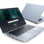 Представлены четыре новых хромбука Acer