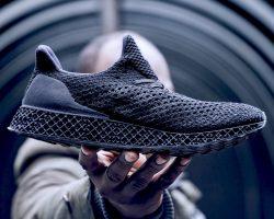 Adidas продает кроссовки напечатанные на 3D-принтере за 333$