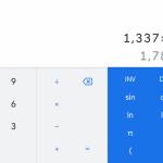 Приложение Google Calculator обновилось и получило дизайн Material Design