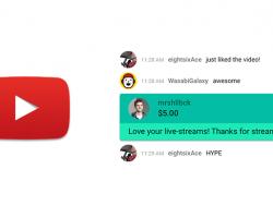 """YouTube запускает """"Super Chat"""" – возможность для пользователей за плату выделить свой комментарий и закрепить его в верхней части списка"""