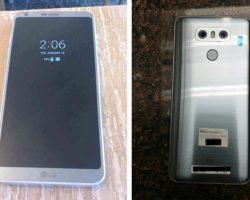 Новые «живые» фото смартфона LG G6