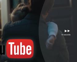 В приложении YouTube для Android, теперь доступна прокрутка видео вперед/назад двойным нажатием на экран