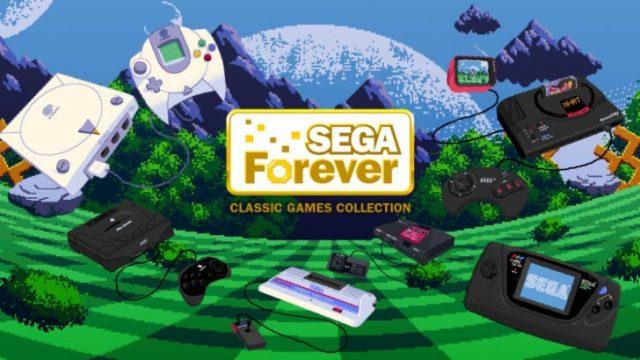 Sega запускает бесплатную коллекцию ретро игр для iPhone и андроид