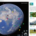Обновлен сервис Google Earth, добавлены новые функции