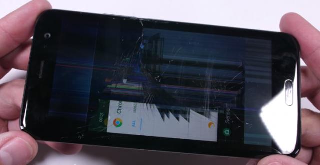 Тест напрочность флагмана HTC U11