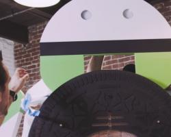 Подробности создания и открытия робота Android Oreo