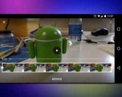 Google Photos возвращает возможность поворачивать видео