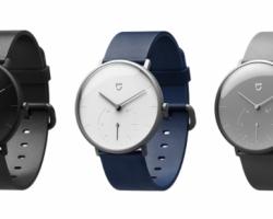 Представлены умные традиционные часы Xiaomi Mijia Quartz Watch
