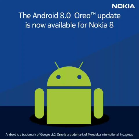 HMD Global обновила до андроид 8.0 Oreo один из телефонов нокиа