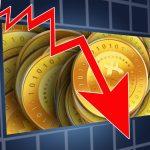 За последнюю неделю курс криптовалюты Bitcoin упал на 30%