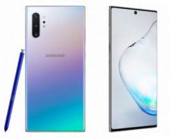 Для смартфонов Samsung Galaxy Note10 и Note10+ вышло обновление