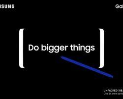 Смартфон Galaxy Note 8 от Samsung будет представлен 23 августа