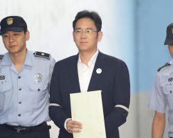 Вице-президента Samsung признали виновным во взяточничестве и приговорили к 5 годам тюрьмы