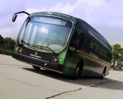 Электрический автобус установил рекорд дальности хода на одном заряде батареи