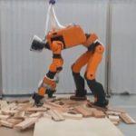 Представлен рабочий прототип спасательного робота Honda E2-DR