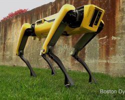 Boston Dynamics представила обновленную версию робота SpotMini