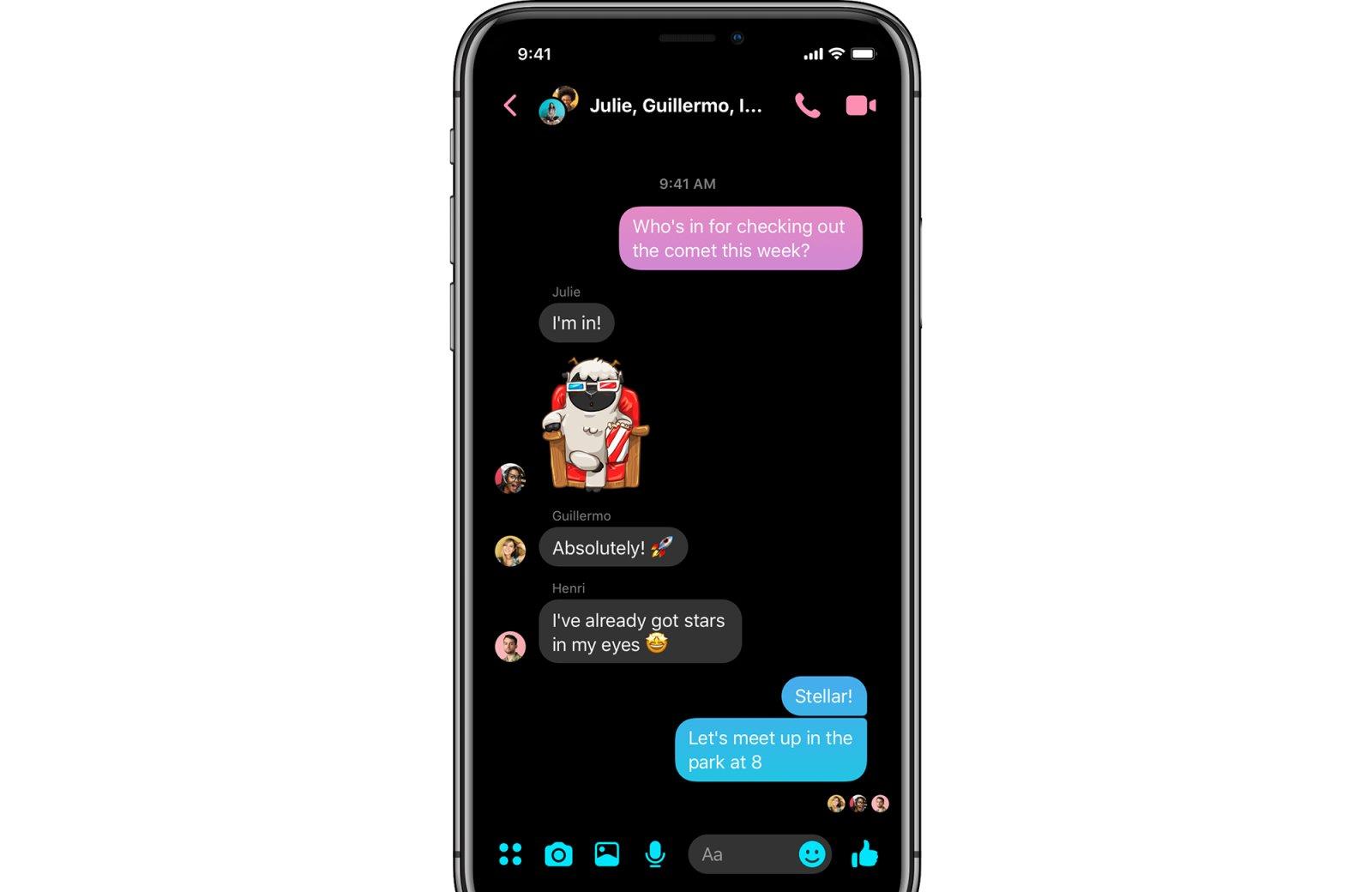 Facebook выпускает обновление, которое значительно упростит Messenger