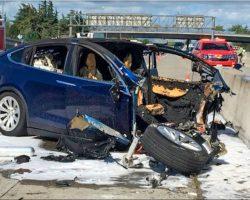 Против Tesla подан иск в суд из-за смертельного ДТП с автомобилем Model X, произошедшего в прошлом году