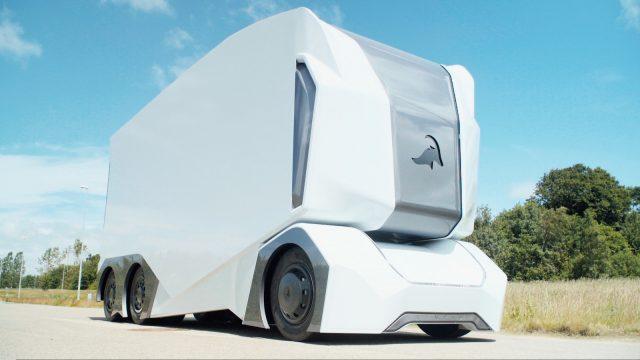 Шведский стартап представил прототип беспилотного электрогрузовика