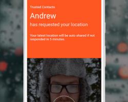 Google Trusted Contacts – приложение для Android, с помощью которого ваши близкие смогут узнать, где вы находитесь