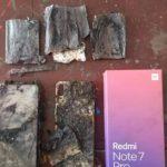 Загорелся смартфон Xiaomi Redmi Note 7 Pro