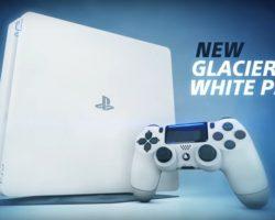 Игровая консоль PlayStation 4 Slim появится в новом цвете – Glacier White