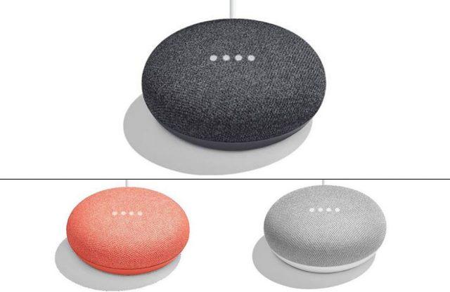 Google готовит смарт-колонку Home Мини иновый шлем Daydream View
