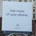 Google подтвердила, что анонс смартфона Pixel 2 состоится 4 октября