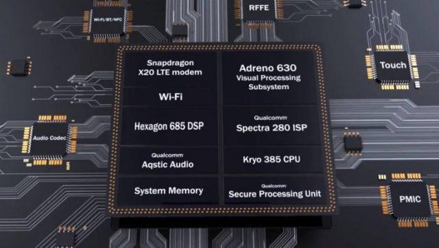 Стали известны характеристики чипа Snapdragon 845