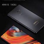 Компания Xiaomi представила смартфон Mi Mix 2 Starck Edition
