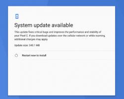 Начинается распространение обновления ОС до Android 7.1.2 для Nexus Player и Pixel C